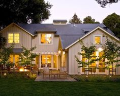 Steward of Design: Crushing On: Modern Farmhouse Exteriors