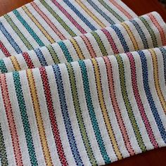 Your place to buy and sell all things handmade – WINNA – weberei Weaving Designs, Weaving Projects, Weaving Patterns, Loom Weaving, Hand Weaving, Linen Fabric, Cotton Linen, Crochet Towel, Textiles Techniques