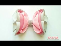 Zaima 3D #Ribbon Bow | DIY by Elysia Handmade - YouTube