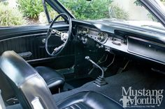 1965 Ford Mustang Interior Photo 1