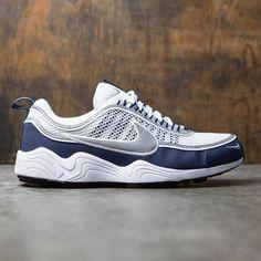 Nike Men Air Zoom Spiridon Qs (white / silver-light midnight)