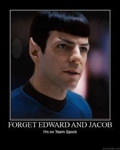 TEAM SPOCK the ONLY Logical choice