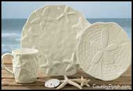 NEW Park Designs Calming Waters Sand Dollar Salad Plate Shore Beach Decor Beach Cottage Decor, Coastal Cottage, Coastal Decor, Coastal Living, Coastal Style, Coastal Furniture, Rustic Decor, Cottages By The Sea, Beach Cottages