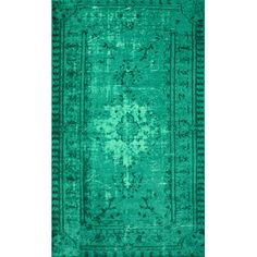 I just ordered this rug for our new house!  So excited!  nuLOOM Hawkesbury Turquoise Overdyed Style Harper Rug