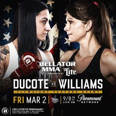 ICYMI at #Bellator195 #KristinaWilliams @warhorsemma defeated #EmilyDucote via split decision (29-28 27-30 29-28). Williams is now 2-0 in her pro record. Her first win was a stunning upset victory over #HeatherHardy. Could a title shot be next for her?  Did you see the fight? Tell me what you thought and don't forget to like  and follow for all the latest MMA news!  Every fighter  has a story   Are you a fighter? If you want to be interviewed by Susan Cingari visit MustLoveMMA.com and fill…