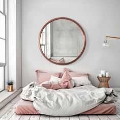 Dreamy pink bed