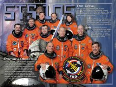 STS-105 Crew poster