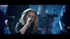 Adele - One and Only (Live at The Royal Albert Hall), via YouTube.