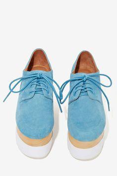 Jeffrey Campbell Zeppole Suede Platform | Shop Shoes at Nasty Gal