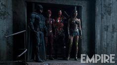 M.A.A.C.   –  Comic-Con Teaser Trailer For JUSTICE LEAGUE. UPDATE: Latest Image