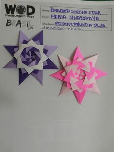 Mossoró, 31 de Outubro de 2014. 3° desafio: dobrar uma Estrela.