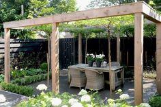 Modern Pergola, Outdoor Pergola, Backyard Pergola, Pergola Shade, Pergola Plans, Pergola Ideas, Deck Landscaping, Costco Pergola, Outdoor Dining