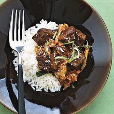 Spicy Beef and Kimchi Stew - Health.com