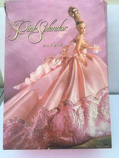 Pink Splendor Barbie BRAND NEW 1996 LIMITED EDITION Box in Near Mind Conditon #Mattel #Dolls