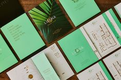 Luana by PowerPlay Destination Properties - Free Agency Creative Garden Villa, Print Design, Graphic Design, Brochure Design, Vancouver, Nerd, Typography, Branding, Creative