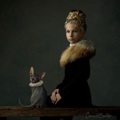These 25+ Photos By A Dutch Artist Look Like Classical Paintings Brought To Life