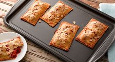 Raspberry Peach Hand Pies recipe for Labor Day- Since berry season is still going strong, here's how to let them shine in your Labor Day celebration.