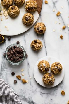 chocolate chip banana bread bliss balls - plays well with butter
