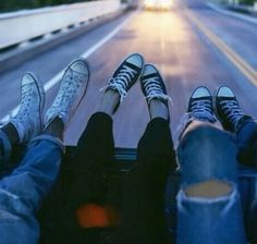 friends, converse, and grunge