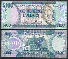 GUAYANA-GUYANA-100-DoLARES-2016-Pick-37-SC-UNC