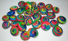 https://flic.kr/p/eGtZUB   Scrapies   Lentile polymer clay beads