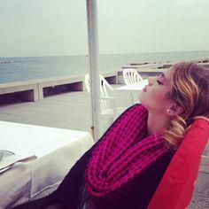 #TiniStoessel esta en #Barcelona Para grabar #Violetta3