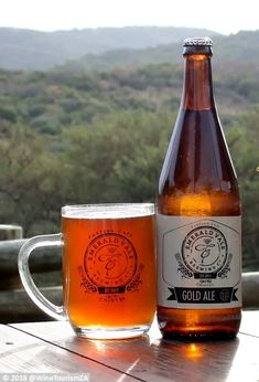 Emerald Vale Brewery Gold Ale: A Red Ale, fuller body than the Pale Ale with a hint of roasted malt added giving the golden colour Beer Industry, Golden Color, Craft Beer, Brewery, Ale, African, Mugs, Ale Beer, Tumbler