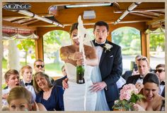 Sometimes the champagne gets away from you. #weddingphotography #funnyweddingmoments Mozingo Photography, Asheville Wedding Photographer