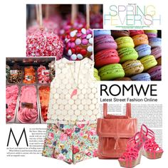 Floral , Sweet with Romwe