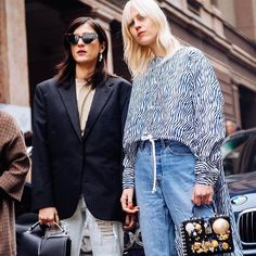 Casual chic done right  the Milanese way! See more of the best #streetstyle from Milan Fashion Week FW17 on harpersbazaar.com.sg now! #HarpersBazaarSG #MFW (: @harrisontsui)  via HARPER'S BAZAAR SINGAPORE MAGAZINE OFFICIAL INSTAGRAM - Fashion Campaigns  Haute Couture  Advertising  Editorial Photography  Magazine Cover Designs  Supermodels  Runway Models