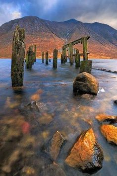 Loch Etive, Glencoe, Scottish Highlands.