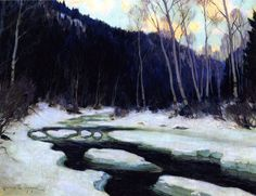 114 Artworks By Clarence Gagnon,clarence Gagnon Oil Painting & Art Prints For Sale,transform Space With Your Favorite Clarence Gagnon Paintings And Frames At Payable Price. We Ship Artwork Worldwide,you Can Custom The Size And Frame. Canadian Painters, Canadian Artists, Clarence Gagnon, Of Montreal, Art Prints For Sale, Impressionism Art, Winter Trees, A4 Poster, Vintage Artwork