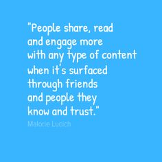 Social Media Quote by Malorie Lucich It has to be #SoChillMedia #SoChilled engagement.