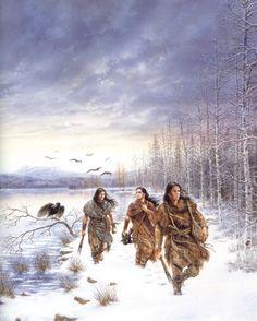 C&W plaatjes en animaties. indianen indian Big Dream Catchers, Dream Big, Nativity, Native American, Clip Art, Snow, Couple Photos, Painting, Outdoor