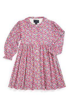 Oscar de la Renta Print Dress (Toddler Girls) available at #Nordstrom