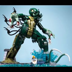 These Creepy Lego Creations Are Definitely Not Kid-Friendly   Carl Merriam, The Madness from the Sea (2013, 2500  pieces)  No Starch Press © Carl Merriam    WIRED.com