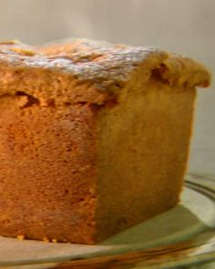 Cream Cheese Pound Cake from chef David Waltuck -- Martha Bakes