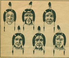 native american face paint