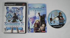 #Suikoden IV #PS2 #Playstation #Konami #RPG Complete Very Good Condition