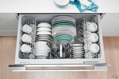 Fisher & Paykel Wide Series DD36S Semi-Integrated Single DishDrawer: Remodelista