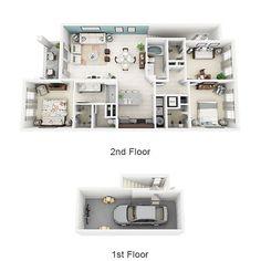 Miami Apartments   Floor Plans   Altis Kendall Square