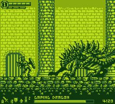 Dark Souls Demake for the GameBoy