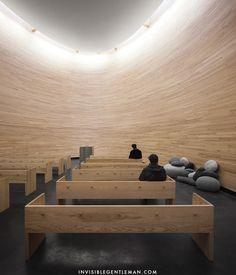 KAMPPI CHAPEL OF SILENCE | K2S architecture | Helsinki, Finland