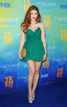 Holland Roden Strapless Dress - Holland Roden Looks - StyleBistro