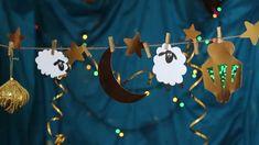 eid al-adha decorations Eid Crafts, Diy And Crafts, Crafts For Kids, Eid Adha Mubarak, Eid Al Adha, Diy Eid Decorations, Muslim Holidays, Sheep Crafts, Art Gallery Wedding