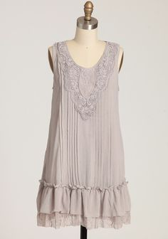 time after time ruffle dress