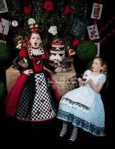 Alice in Wonderland Apron by EllaDynae on Etsy