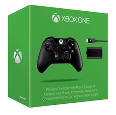 c878335675db Wireless Controller + Play and Charge Kit - Xbox One by Microsoft Software
