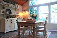 My Sweet Savannah: dining room ideas