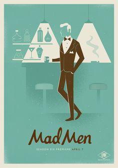 Mad Men Season 6 by R A D I O